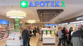 Norges største kjøpesenterapotek