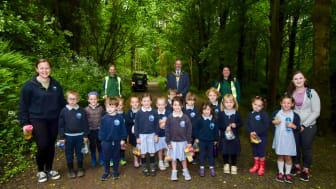 Glenarm pupils get behind NI's first Queen's Commonwealth Canopy bid