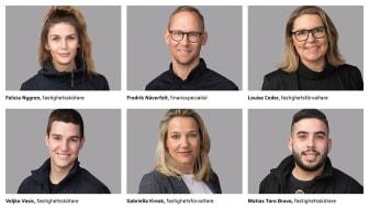 Nyanställda i HSB Stockholms förvaltningsverksamhet