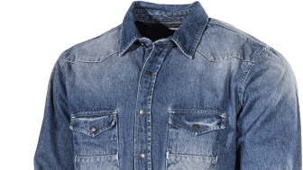 L.Brador Jeansskjorta 710B fram