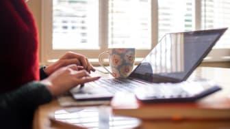 Att arbeta hemifrån kan vara en ergonomisk utmaning