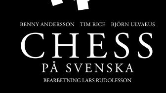 CHESS på svenska, en originaluppsättning signerad Benny Andersson, Tim Rice och Björn Ulvaeus