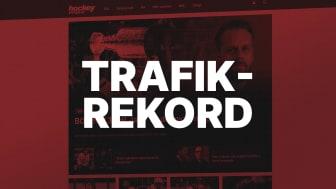 Nytt trafikrekord för Sveriges största hockeysajt – Hockeysverige.se