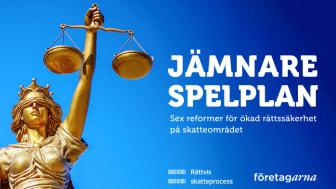 Företagarna och Rättvis skatteprocess föreslår i ny rapport sex reformförslag inom skattepolitiken.