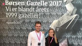 Tonny Andersen og Mathilde Mackowski
