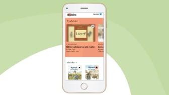 Den kommande appen Bläddra, som gör det möjligt att läsa e-böcker på samiska och romani chib.