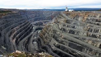 Bolidens koppargruva i Aitik. Foto: Pixabay