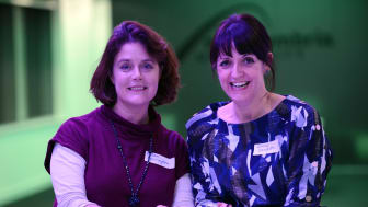 Rhian Sherrington, founder of the Women in Sustainability network and Dr Jenny Davidson,  Newcastle Business School