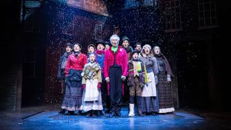 A Christmas Carol gästspelar på Folkoperan i december. Foto: Göran Wallgren
