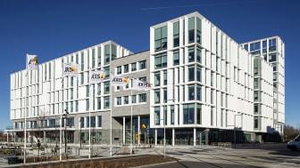 Axis huvudkontor får Lunds stadsbyggnadspris för 2020 Foto: Kasper Dudzik
