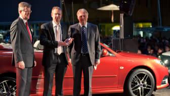 KGK tilldelas Saab Supplier Award 2010