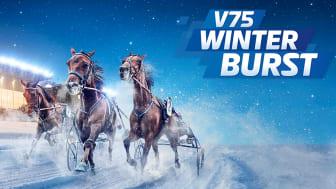 V75 Winter Burst® med multijackpot på nyårsafton