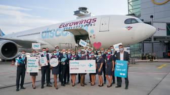 Lufthansa Cargo vermarktet Frachtkapazitäten der Eurowings Discover