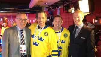 Scandic är stolt huvudsponsor till Svenska Ishockeyförbundet