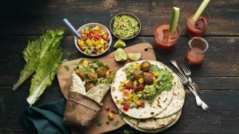 Grönsaksbullar – nyhet på middagsbordet