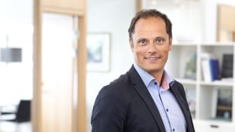 Magnus Lundberg, tillträdande Regionchef Byggnads AB Tornstaden Öst