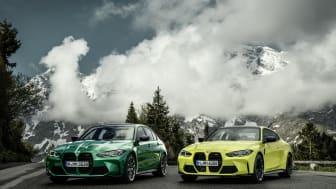 Helt nye BMW M3 Sedan og BMW M4 Coupé: Et nytt kapittel for to ikoner
