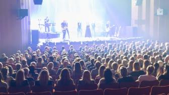 Konsert på Halmstads Teater. Foto: Lasse Partanen