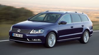 Volkswagen Passat firar 40 år på svenska vägar