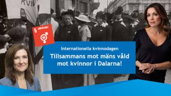 Årets internationella kvinnodag valde vi att fira 100 år sedan kvinnlig rösträtt, men samtidigt fokusera på de utmaningar vi har kvar idag.