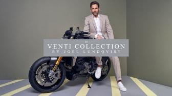 Joel Lundqvist, känd från Frölunda Indians HC, lanserar The Limited Venti Collection i samarbete med Novita Man.