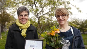 SLU Artdatabankens naturvårdspris 2020 tilldelas Helena Allard för hennes arbete att öka den biologiska mångfalden genom Svenskt Sigill.
