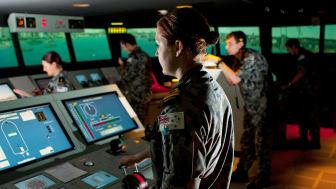 RAN Maritime Warfare Officers at HMAS Watson will soon be trained on upgraded K-Sim Polaris ship's bridge simulators