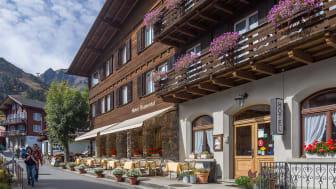 Das Hotel Blumental in Mürren