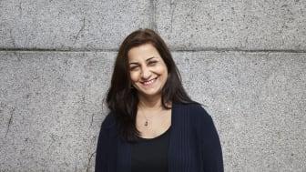 Forfatter Soudabeh Alishahi, tildeles kunst- og kulturstipend Oslo kommune for 2020. Foto: Julia Pike