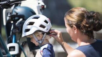 TEC Lelle har utsetts till Sveriges säkraste cykelhjälm för barn i Folksams stora hjälmtest