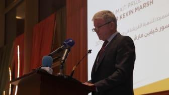 Professor Marsh Speech at Al-Sumait Prize Awards