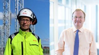 Martin Höhler, vd för E.ON Energidistribution och Jonas Arvidsson, Vd för ONE Nordic AB.