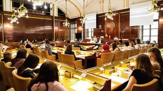Ungdomasfullmäktige sammanträder i Börsen. Bild: Anna Sigvardsson