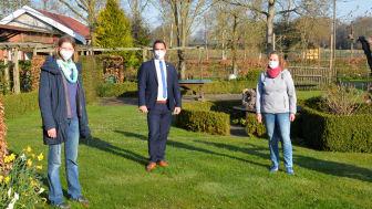 Universität und Stadt Vechta gemeinsam für Naturnahe Gärten und Insektenschutz