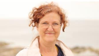 Psykolog och forskarstuderade Kristina Byström, Habiliteringen Skövde, har i ett licentiatarbete vid SLU Alnarp undersökt samspelet mellan barn och ungdomar med autism och deras husdjur. Foto: Otto Byström