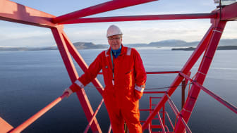 Hans Chr. Elmholdt i Lifting & Safety International AS er fornøyd med Arbeidstilsynets revisjon. Foto: LSI
