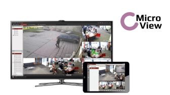 MicroView launches customised video surveillance concept for SMEs and private households