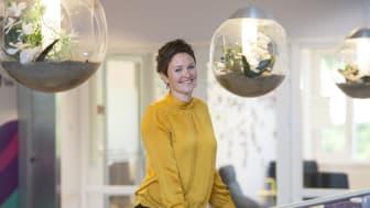 Ansetter nye merkevaresjefer: CMO Kjersti Jamne (bildet) har i dag utnevnt to nye merkevaresjefer i Telia Norges divisjon for privatmarkedet.