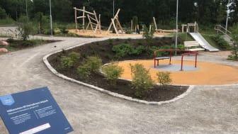 Ny lekpark vid Hansabron