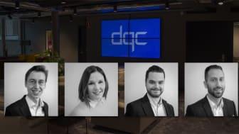 DQC välkomnar flera nya kollegor