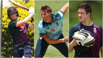 Tom Abell, Brydon Carse and Tom Kohler-Cadmore all played in England Lions' one-day matches in Australia (Getty Sport)