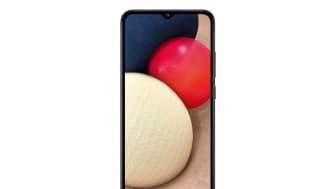 Samsung Galaxy A02s_Black_Front