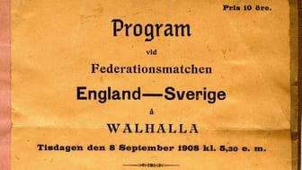 Matchprogram 1908
