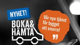 Woody Bygghandels nya tjänst Boka & Hämta.