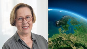 Madeleine Sjöstedt föreläser om varumärket Sverige på Industri & Framtid 2019.