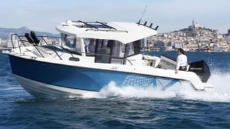 """Quicksilver 805 Pilothouse er netop blevet kåret som """"Best of Boats"""" i kategorien fiskeri"""