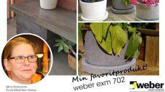 Min favoritprodukt del 1: weber exm 702