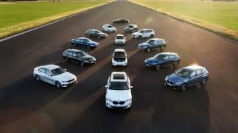 Elektrifierade modeller från BMW Group