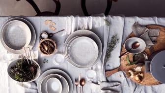 Bringt die Natur auf den Tisch - die neue Rosenthal Farbe Mesh Mountain.
