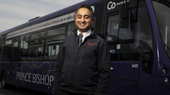Jaswinder (Jas) Singh, Go North East bus driver